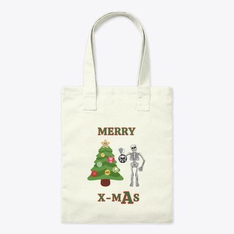 Merry X M As Natural T-Shirt Front
