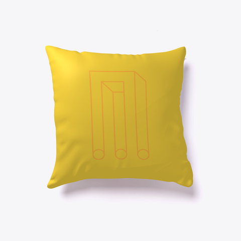 Impossible Trident Pillow Yellow T-Shirt Front