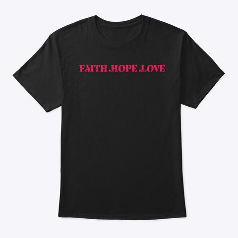 Truthful Music Wear Black T-Shirt Front
