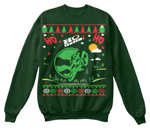 Ho Ho Ho Ho! Ho Deep Forest  T-Shirt Front