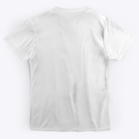 Mens Logo T Shirt White Standard T-Shirt Back