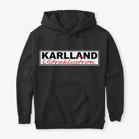 Karlland By Ultraklystron Black T-Shirt Front