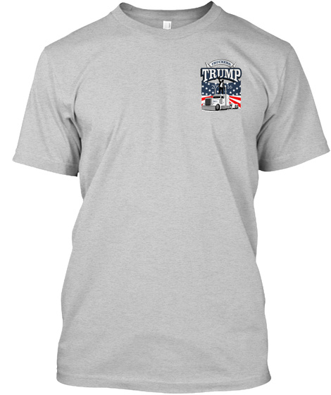 Trump Light Steel T-Shirt Front