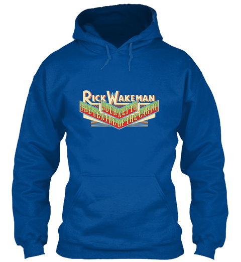 Rick Wakeman   Journey To The Centre Of  Royal T-Shirt Front
