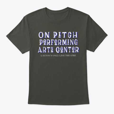 On Pitch Performing Arts Oppa! Smoke Gray T-Shirt Front