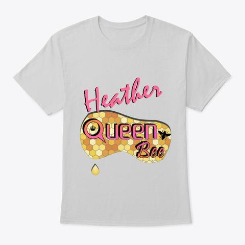 Heather Queen Bee Light Steel T-Shirt Front