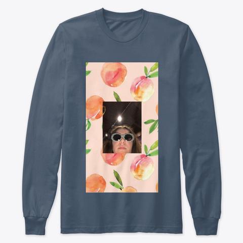 Peachy Bros Indigo T-Shirt Front