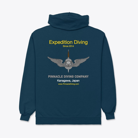 Pdc Expedition Hoodie Navy T-Shirt Back