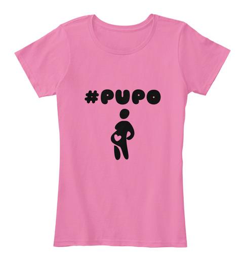 #Pupo True Pink T-Shirt Front