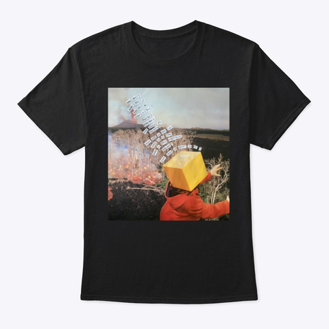 Lost Black T-Shirt Front