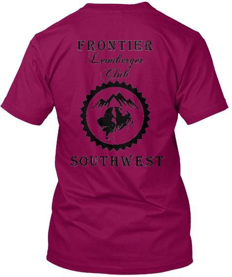 Frontier Leonberger Club Southwest Cardinal T-Shirt Back