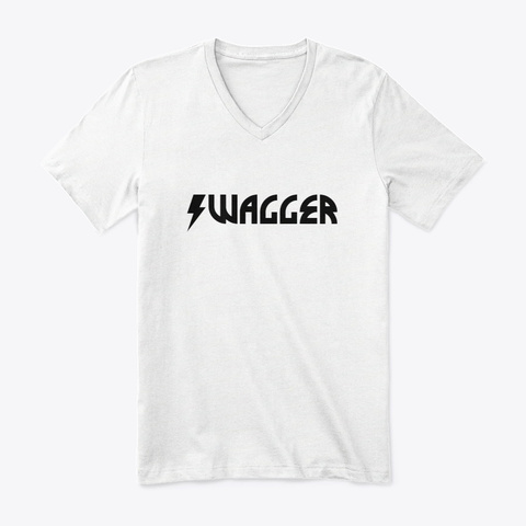 Sports Gear Swagger White T-Shirt Front