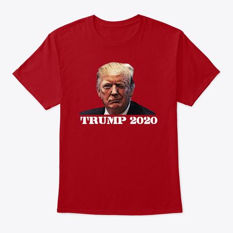 Trump 2020 Deep Red T-Shirt Front