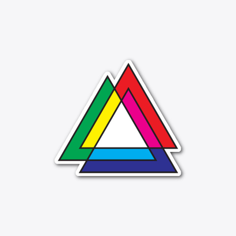 Tri Venn (Sticker) Standard T-Shirt Front