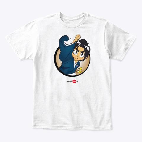 Budo Kids White T-Shirt Front