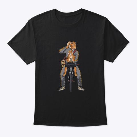 Tiger Cub Ata T Shirt Black T-Shirt Front