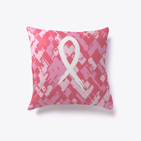 Fight Breast Cancer Pillow White T-Shirt Front
