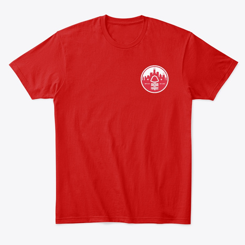Jake Burns Chi Town Tee Classic Red T-Shirt Front
