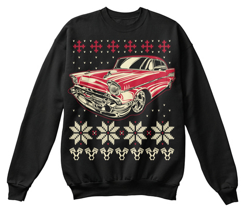 Classic Car ugly Christmas sweater shirt Unisex Tshirt