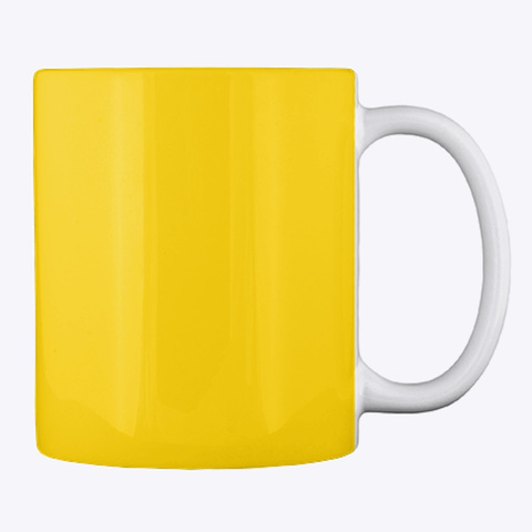 Orange Tree Mug Lemon Yellow T-Shirt Back