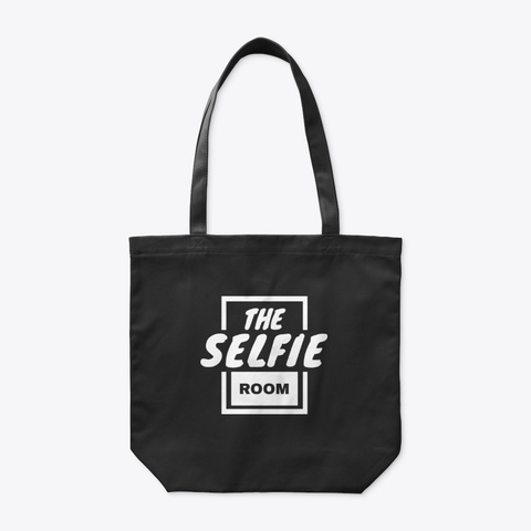 Selfie Room Accessories Black T-Shirt Front