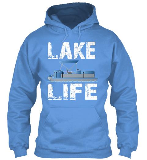 Lake Life Carolina Blue T-Shirt Front