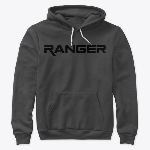 Ford Ranger Gram Hoodie Dark Grey Heather T-Shirt Front