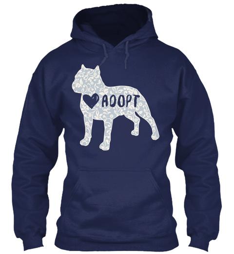 Love Aoopt Navy T-Shirt Front
