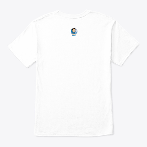 Betta Life White T-Shirt Back