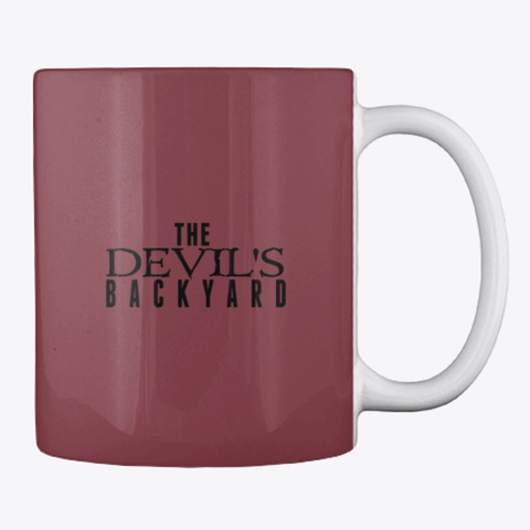The Devil's Backyard Ii Maroon Camiseta Back