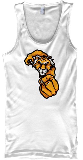 Tiger Muay Thai White T-Shirt Front