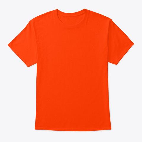 Dogwood Paranormal Orange T-Shirt Front