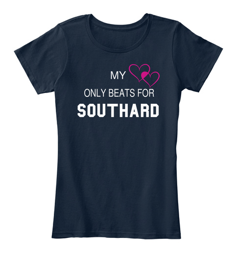 My Only Beats For Southard New Navy T-Shirt Front