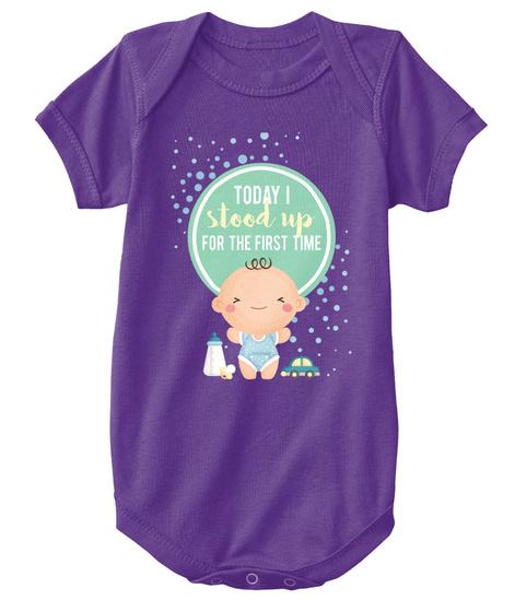 579c171294001 Newborn baby onesie - Stood up
