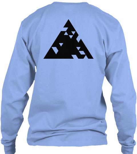 Qilla Quilla  Light Blue T-Shirt Back