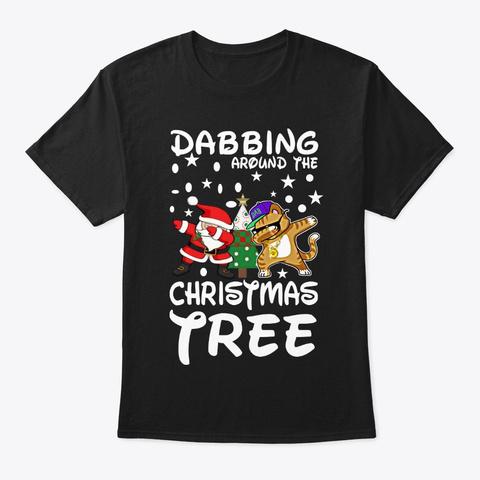 Dabbing Around The Christmas Tree LongSleeve Tee