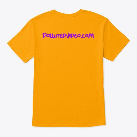 Bottom   Gold T-Shirt Back