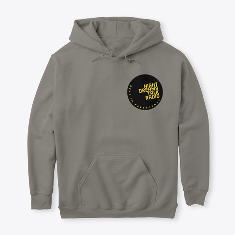 Night Dream 2021 Hoodie Charcoal T-Shirt Front