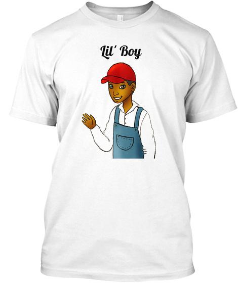 Lil' Boy White T-Shirt Front
