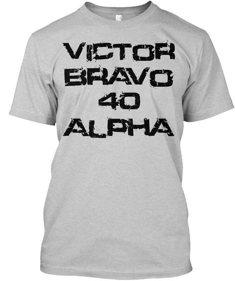 Vb40 Adv Victor Bravo 40 Alpha Light Steel T-Shirt Front