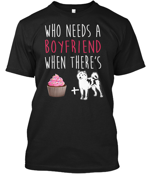 Cute Sheep 2 Funny Art Shirts Boyfriend C Black T-Shirt Front