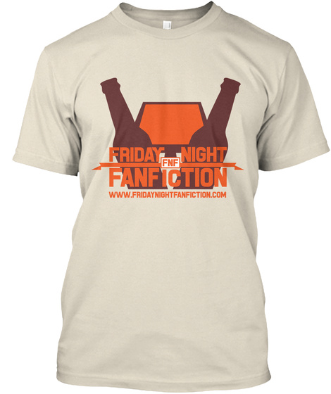 Friday Night Fnf Fanfiction Www.Fridaynightfanfiction.Com Cream T-Shirt Front