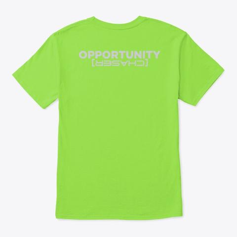 Fear Average Lime T-Shirt Back