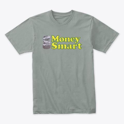 Money Smart Cooper Stack Warm Grey T-Shirt Front