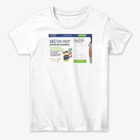 One Shot Keto Pro Reviews White T-Shirt Front