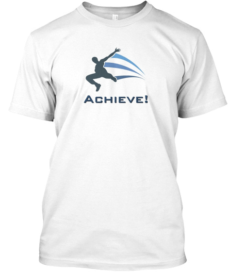Motivation! White T-Shirt Front