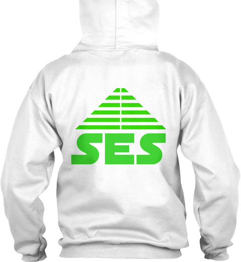 Ses White Sweatshirt Back