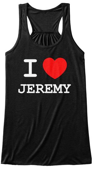 I Heart Jeremy Tank Tops 2 Black Women's Tank Top Front