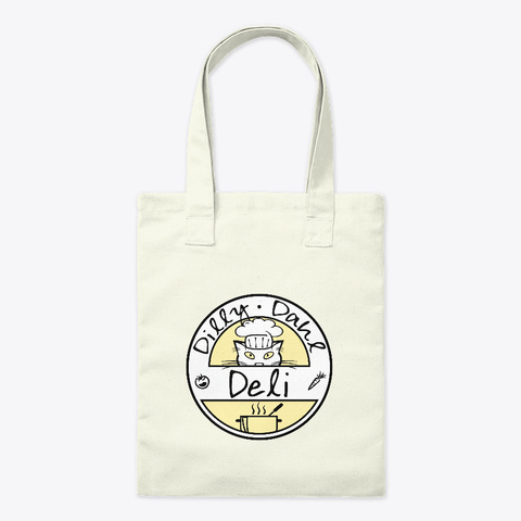 Dollars For Dilly Dahl Deli Natural T-Shirt Front