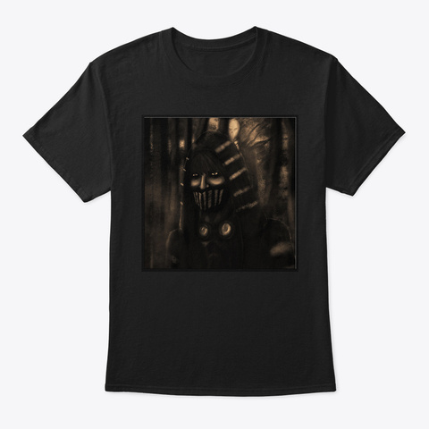 Ticci Toby Always Watching! Black T-Shirt Front
